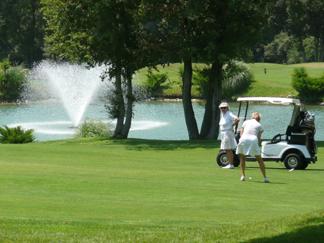Golf villas